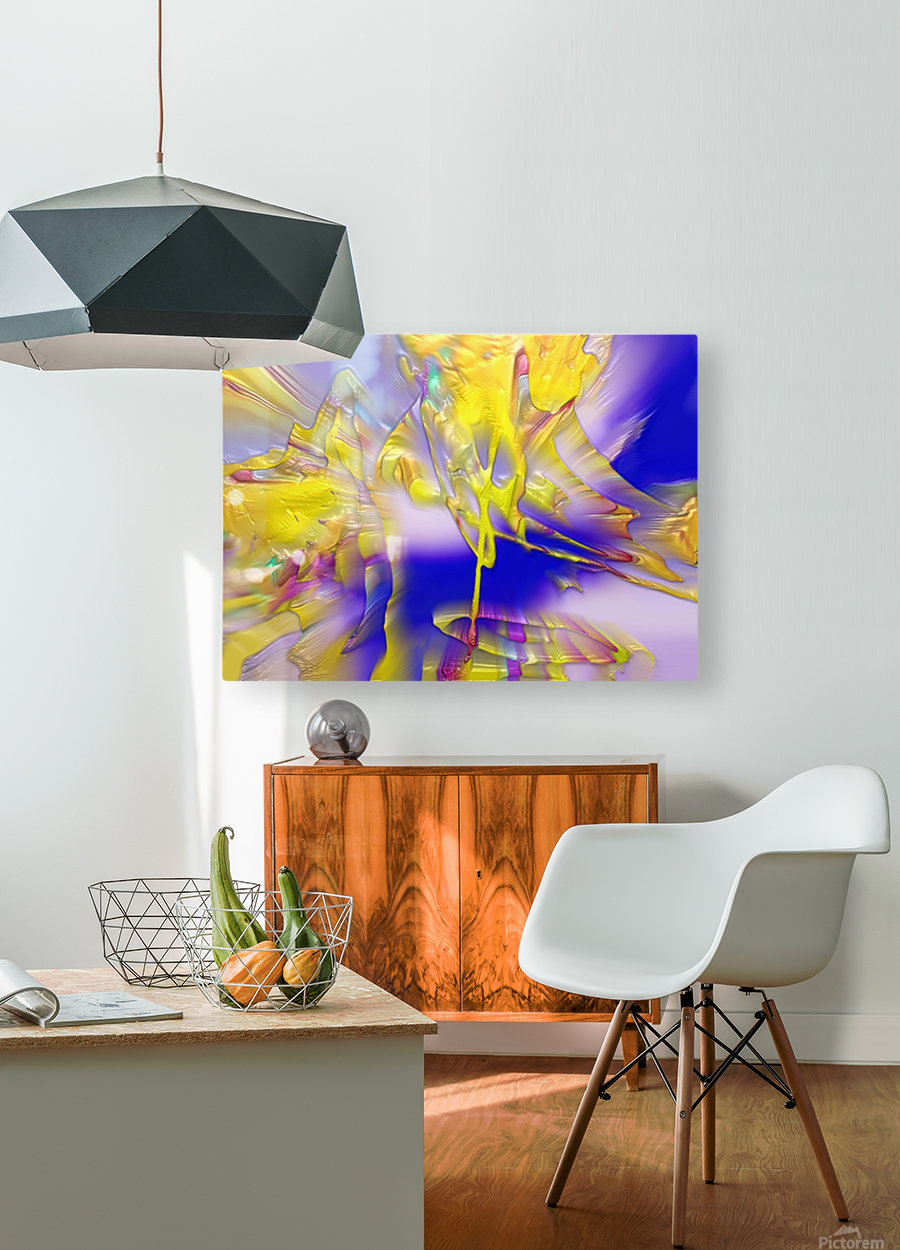 26  HD Metal print with Floating Frame on Back