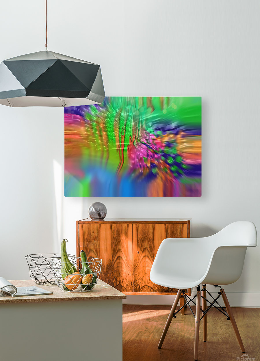 207  HD Metal print with Floating Frame on Back