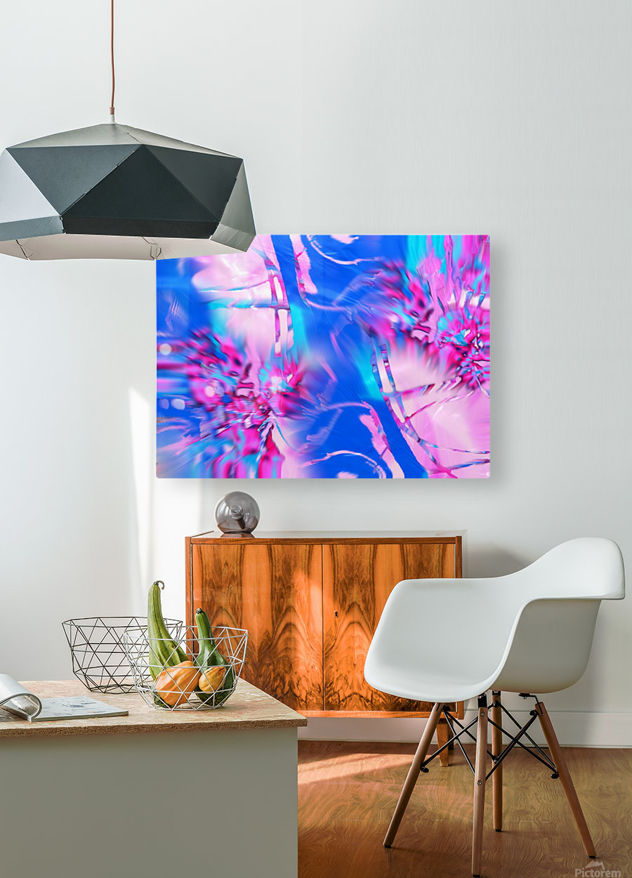 173  HD Metal print with Floating Frame on Back