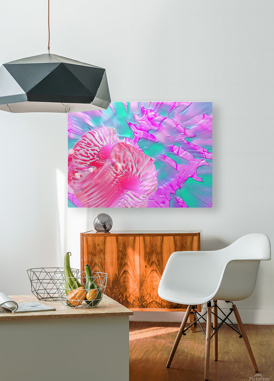 204  HD Metal print with Floating Frame on Back