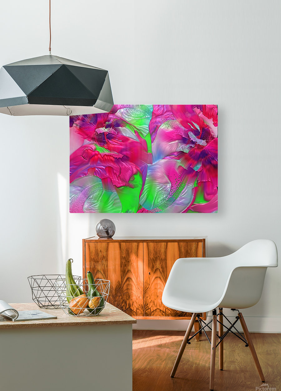 191  HD Metal print with Floating Frame on Back