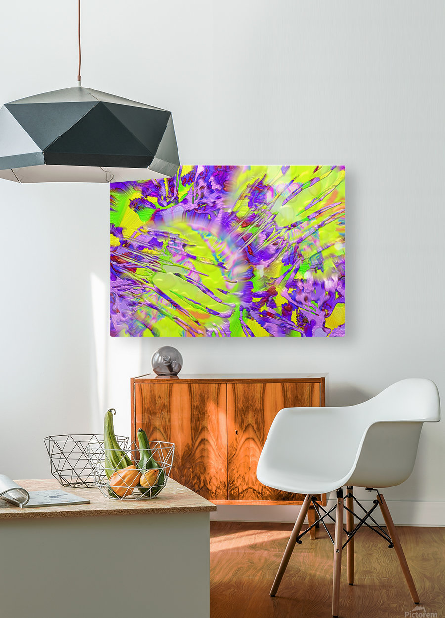 563  HD Metal print with Floating Frame on Back