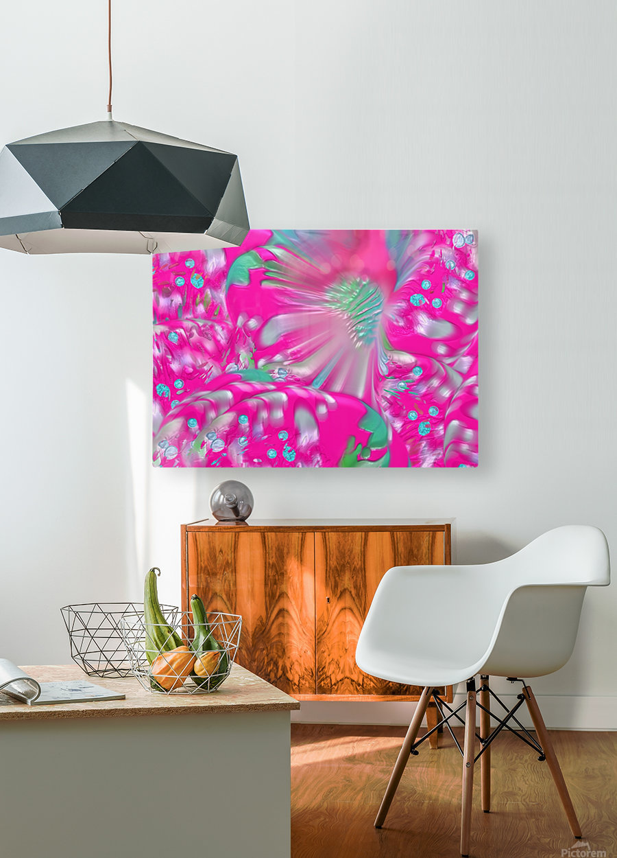612  HD Metal print with Floating Frame on Back