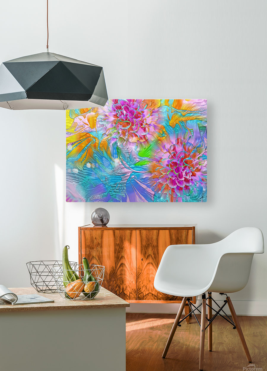 621  HD Metal print with Floating Frame on Back