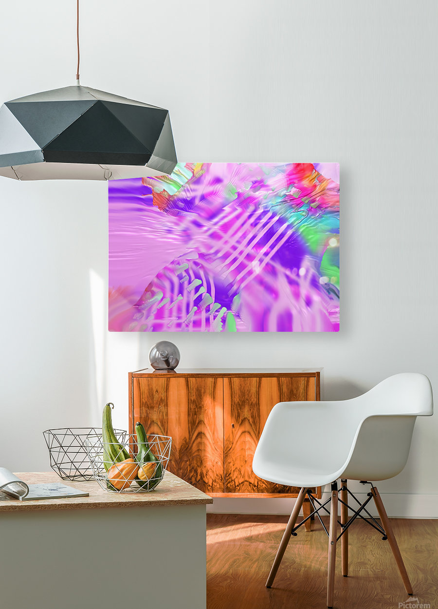831  HD Metal print with Floating Frame on Back