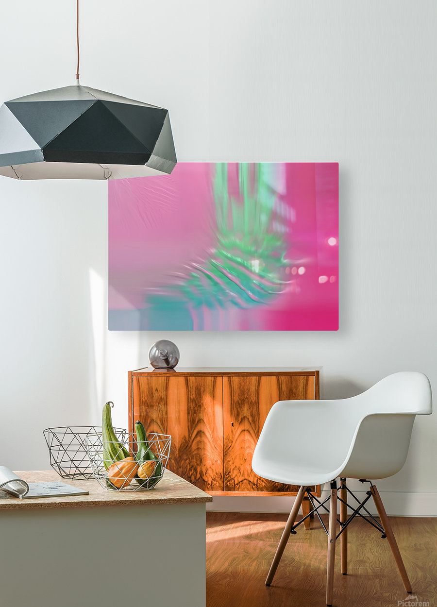 Ref: 876  HD Metal print with Floating Frame on Back