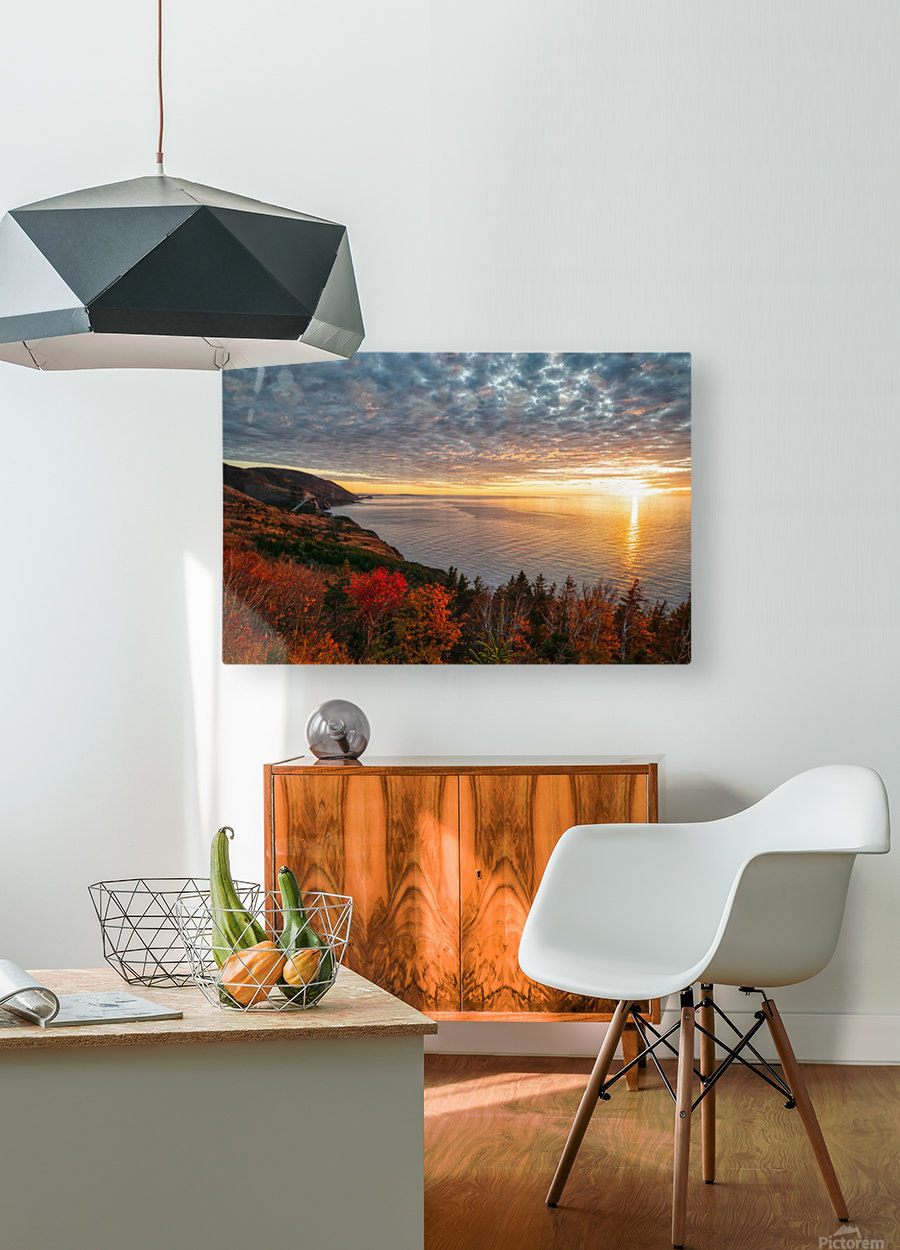 Autumn Glory  HD Metal print with Floating Frame on Back