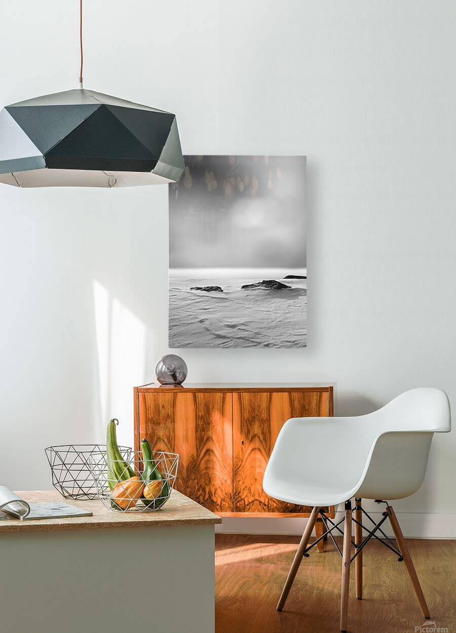 The Silence  HD Metal print with Floating Frame on Back