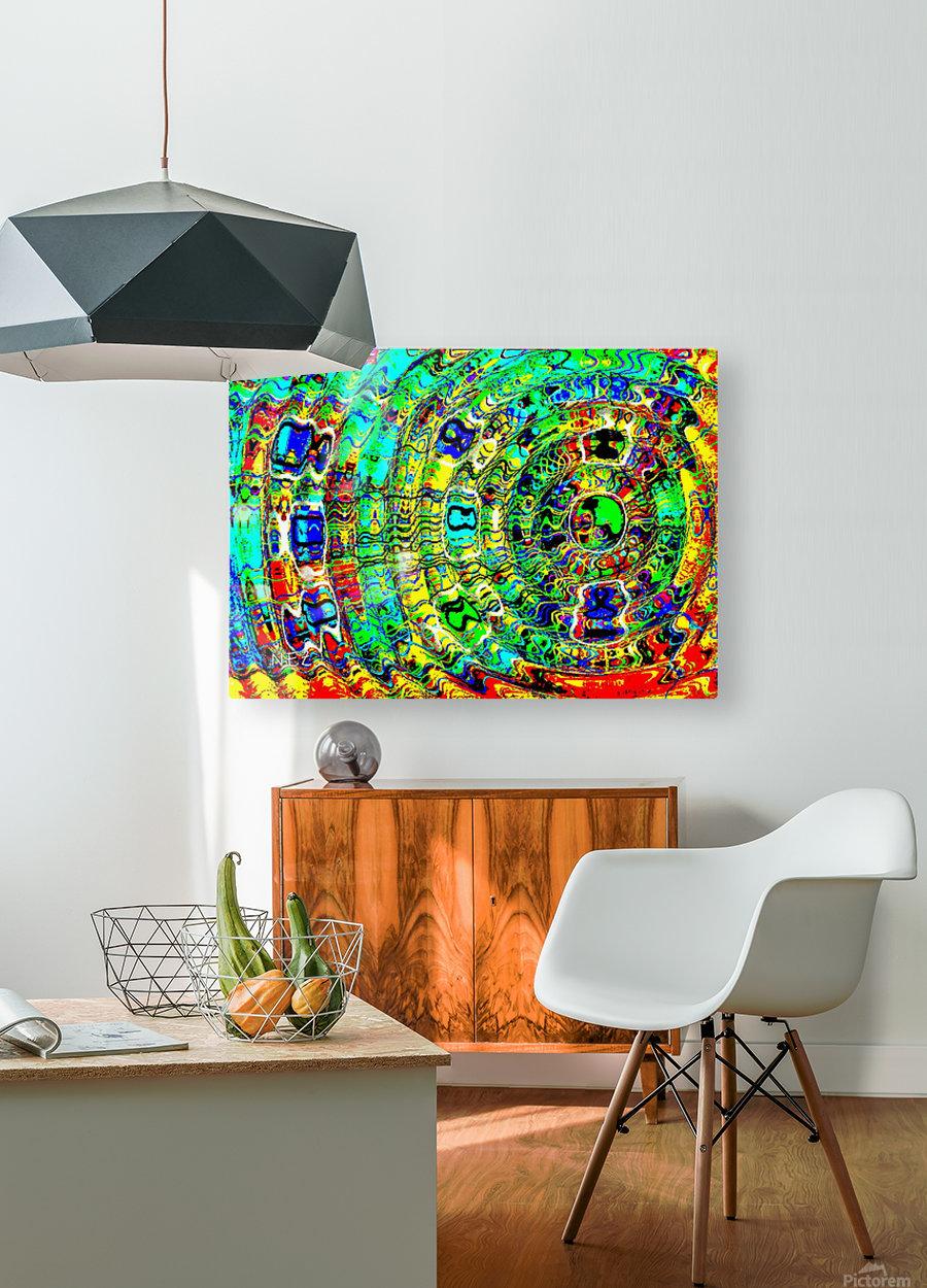 Imagination  HD Metal print with Floating Frame on Back