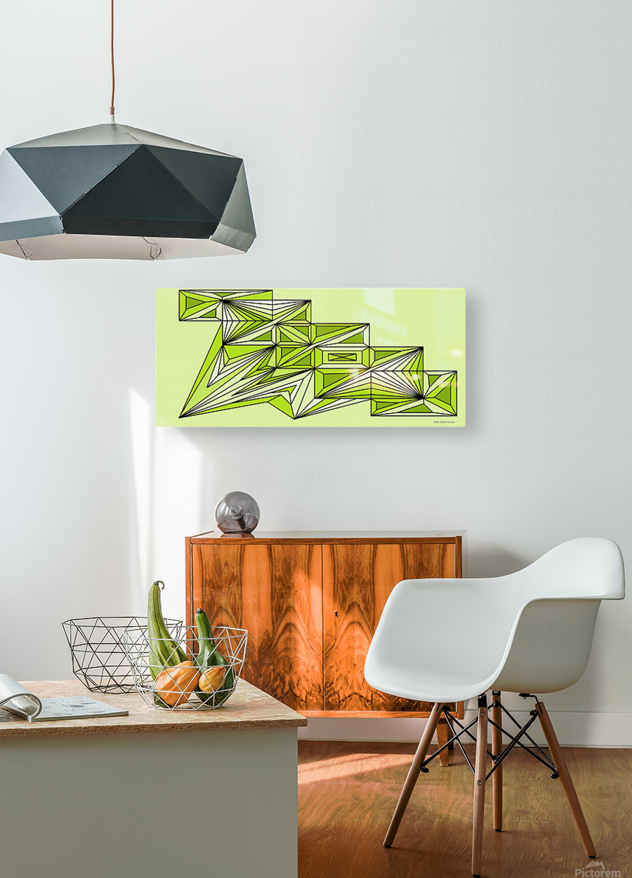 A star ship 3  HD Metal print with Floating Frame on Back