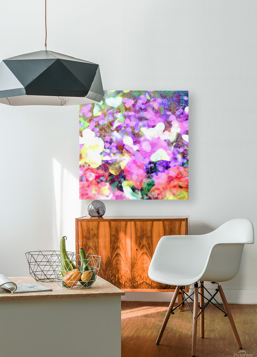 Petals on the Breeze  HD Metal print with Floating Frame on Back