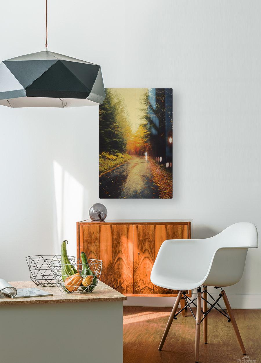 Autumnal Landscape 4  HD Metal print with Floating Frame on Back