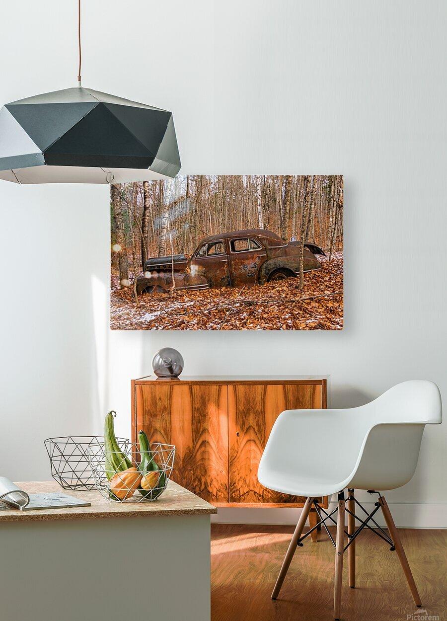 Chevrolet Fleetline 4  HD Metal print with Floating Frame on Back