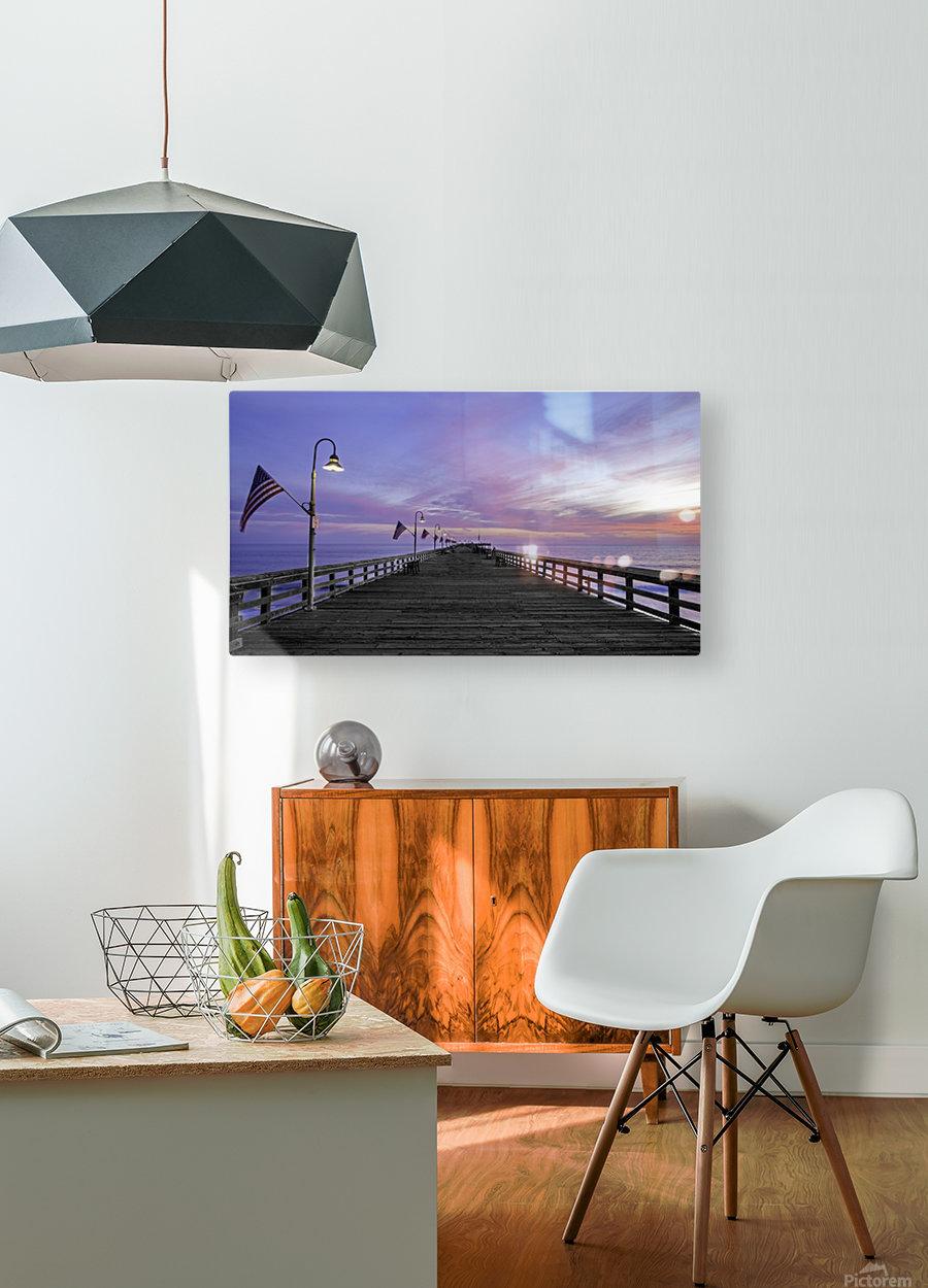 Final Destination  HD Metal print with Floating Frame on Back