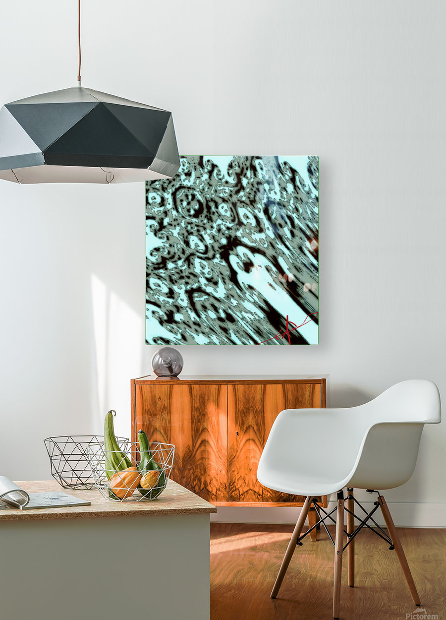Peck Shuts Down the Protection Grid  HD Metal print with Floating Frame on Back