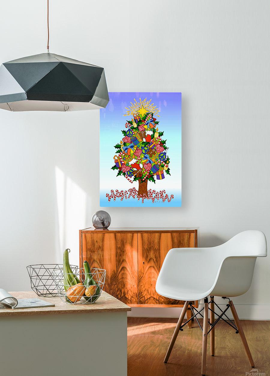 Joy of Christmas  HD Metal print with Floating Frame on Back