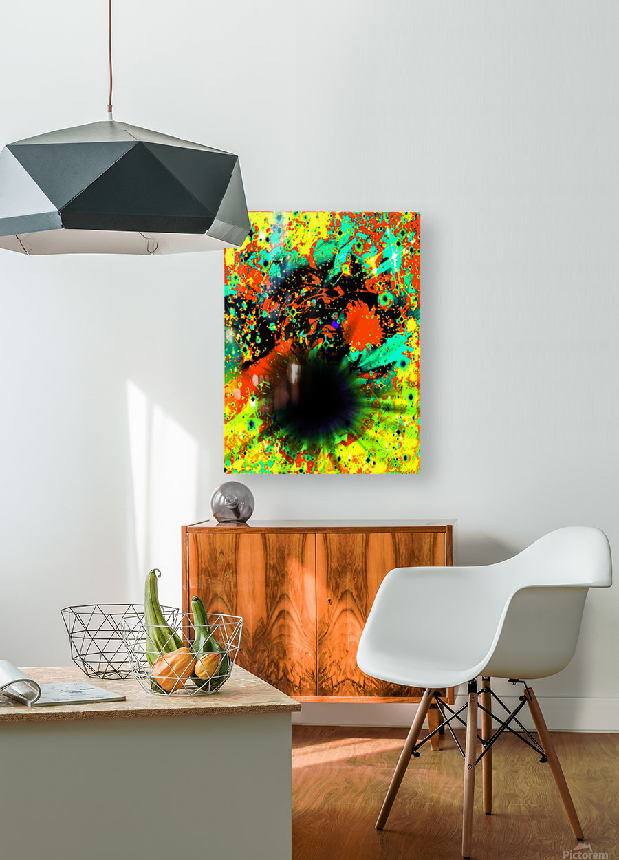 Blight  HD Metal print with Floating Frame on Back