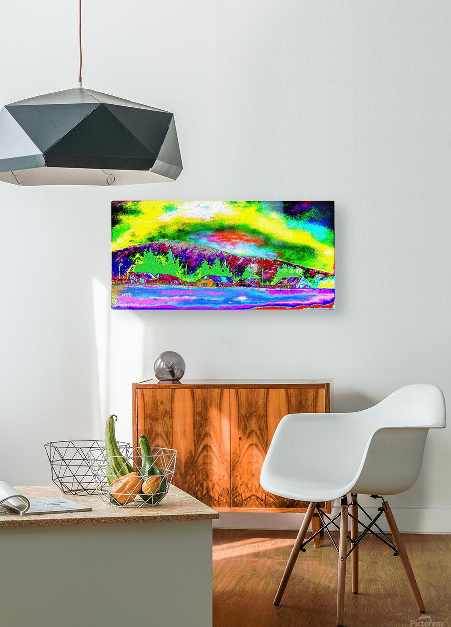 Magna  HD Metal print with Floating Frame on Back