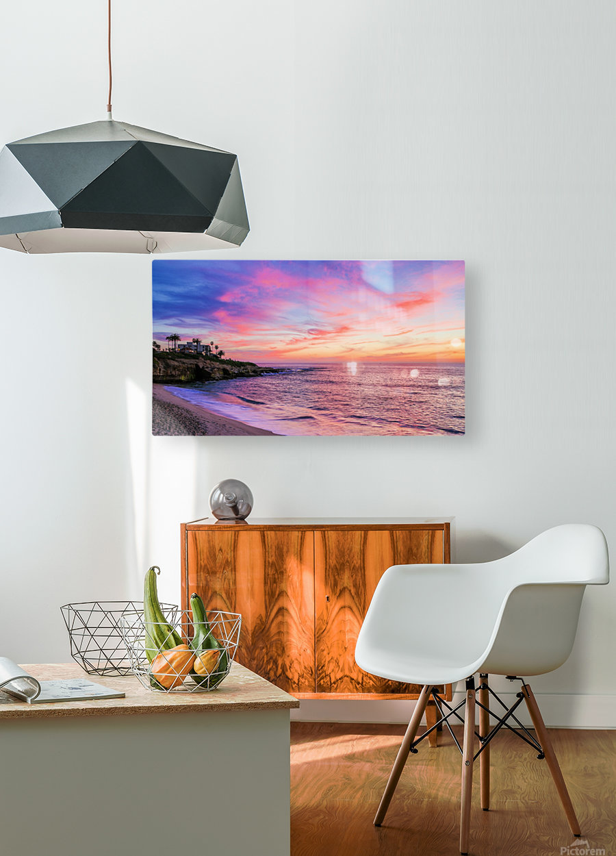 Miss La Jolla  HD Metal print with Floating Frame on Back