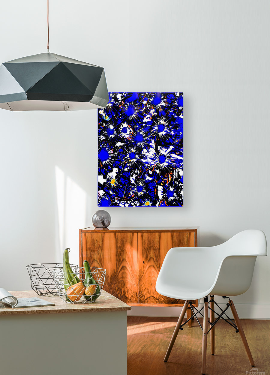 A Cluster of Emotions  HD Metal print with Floating Frame on Back