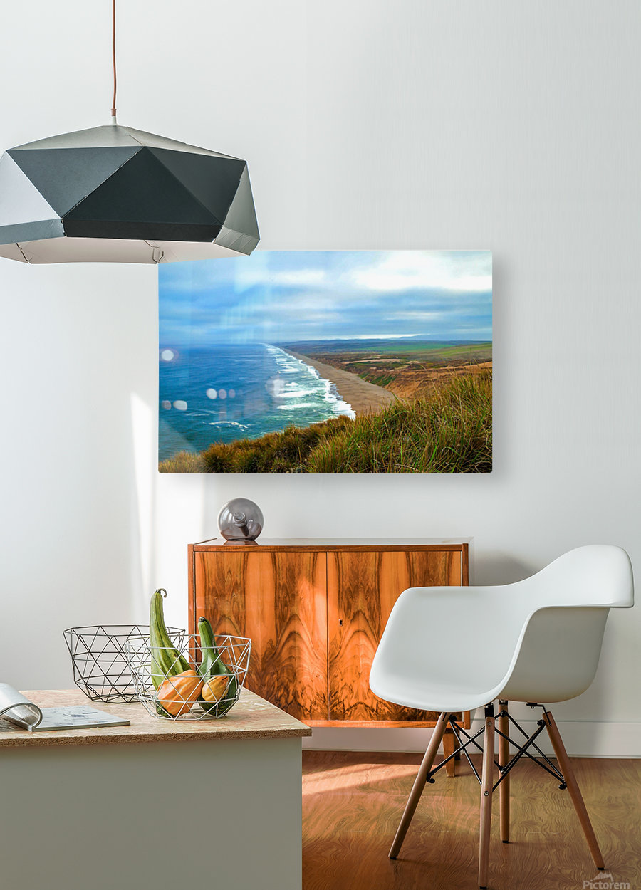 End Of World  HD Metal print with Floating Frame on Back
