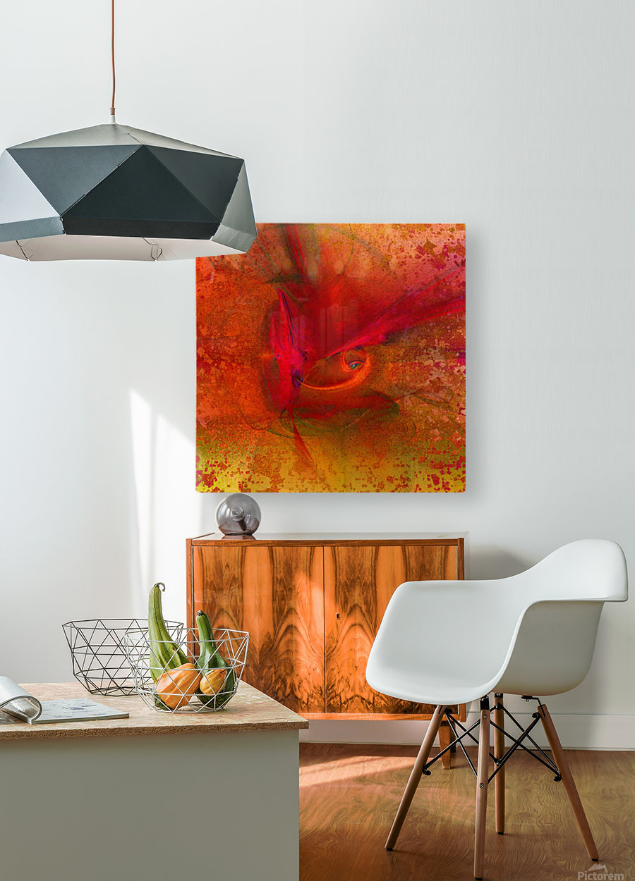 Orion by Jean-François Dupuis  HD Metal print with Floating Frame on Back
