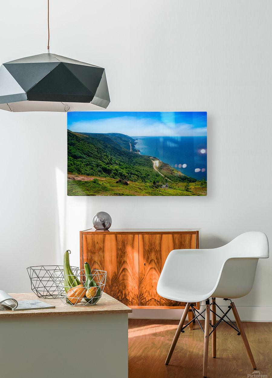 Cap Rouge Vista  HD Metal print with Floating Frame on Back