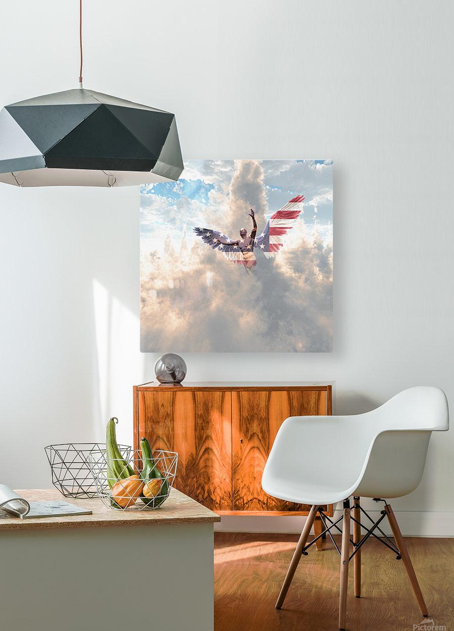 Savior  HD Metal print with Floating Frame on Back