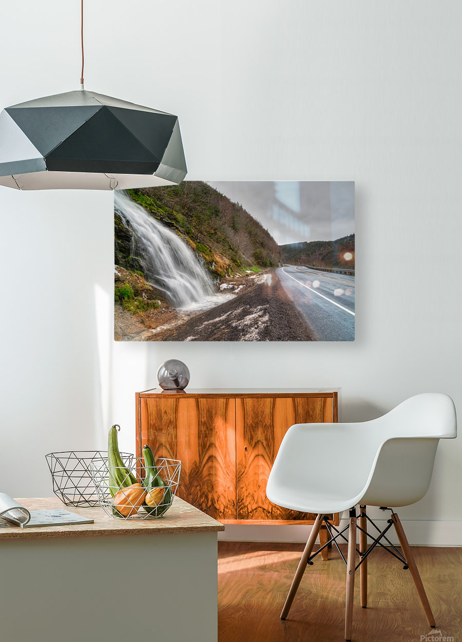 Niagara on the French - CBHNP  HD Metal print with Floating Frame on Back