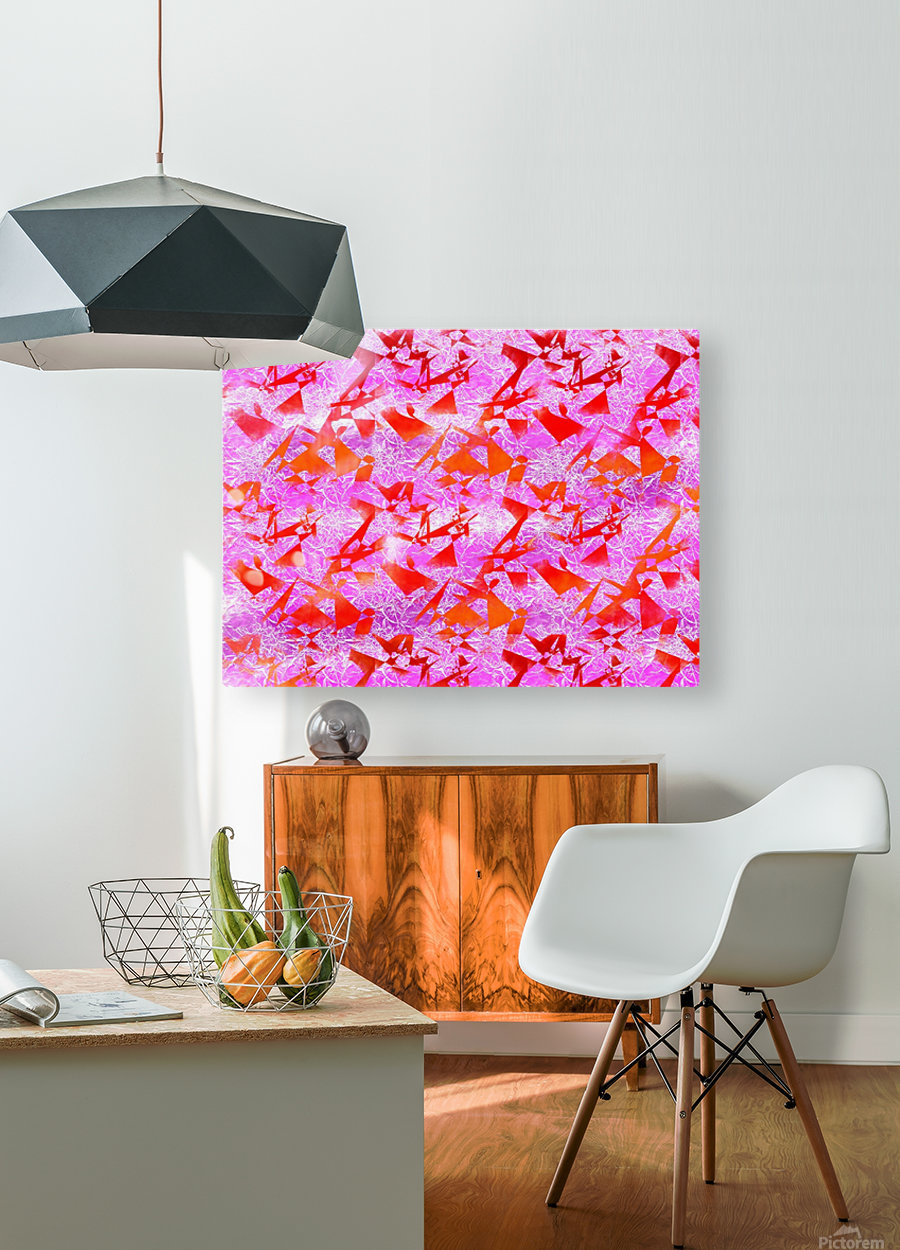 Ice In Sunshine 1  HD Metal print with Floating Frame on Back