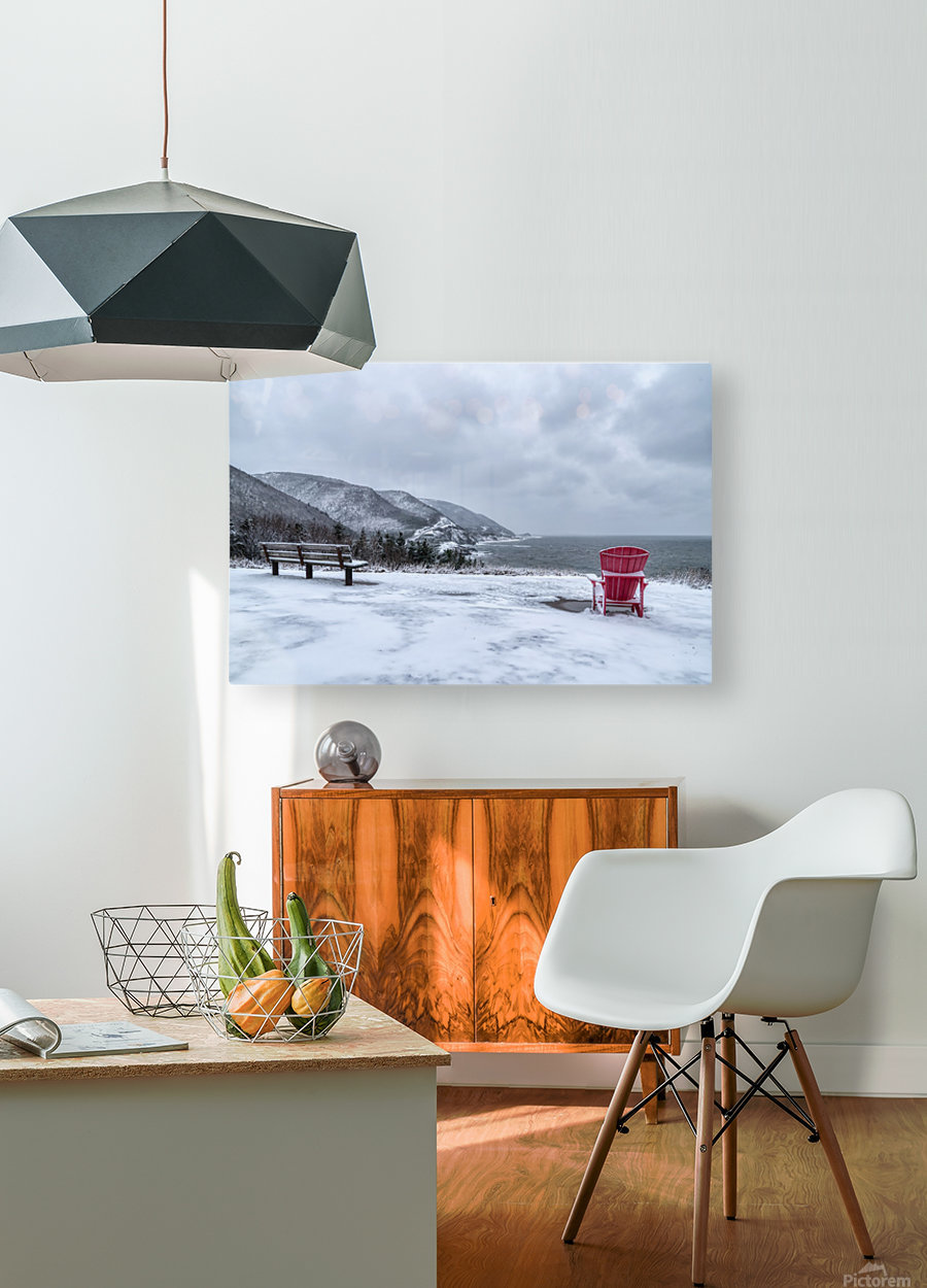 Winter in the CBHNP  HD Metal print with Floating Frame on Back