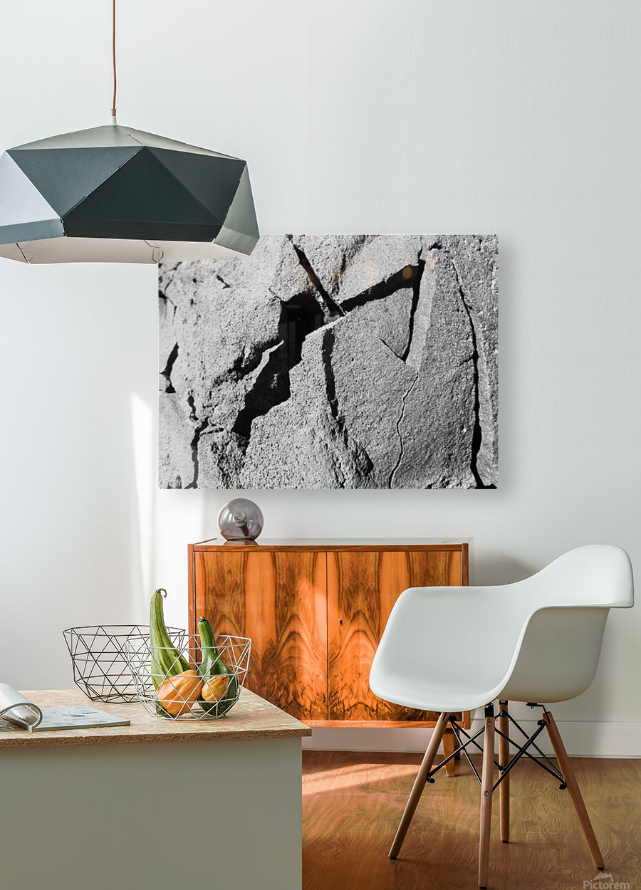 dagaz ruthlessly lighting the eyes in the mind  HD Metal print with Floating Frame on Back