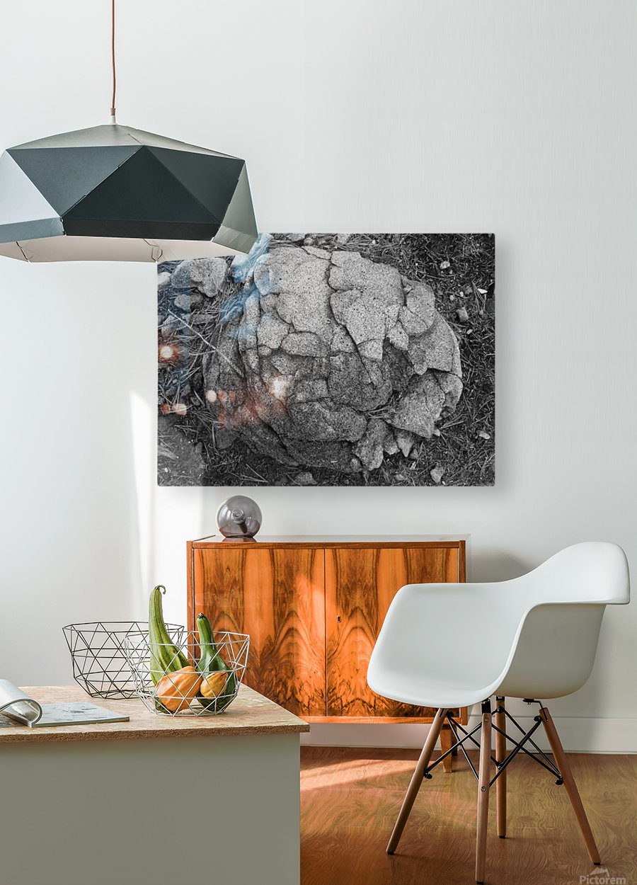 minor world falling apart  HD Metal print with Floating Frame on Back