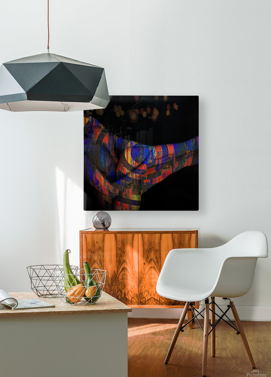 Body   HD Metal print with Floating Frame on Back