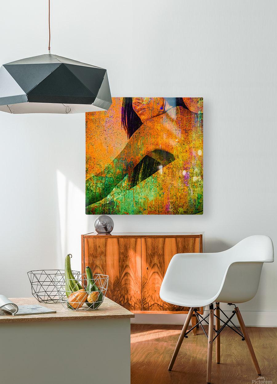 Tara   HD Metal print with Floating Frame on Back