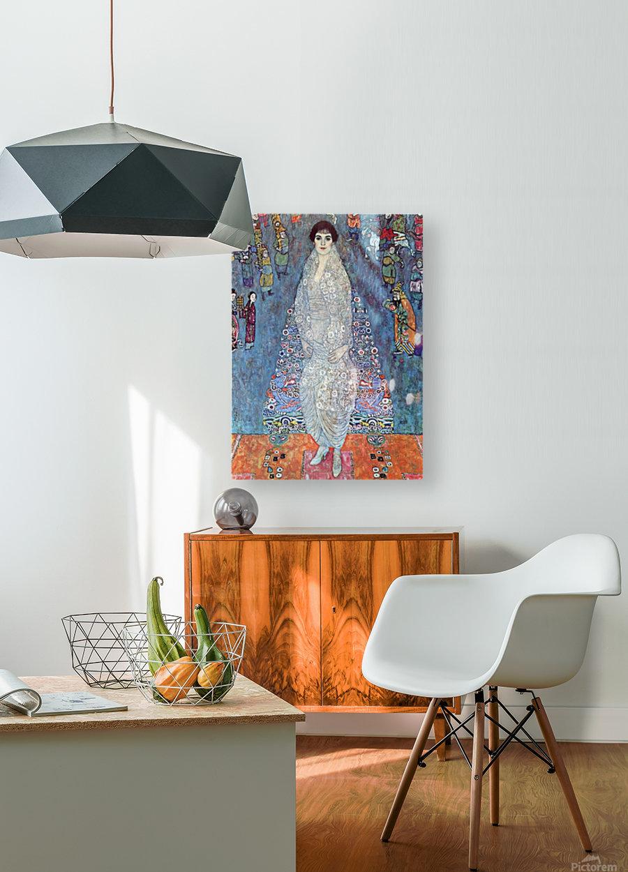 Baroness Elizabeth by Klimt  HD Metal print with Floating Frame on Back