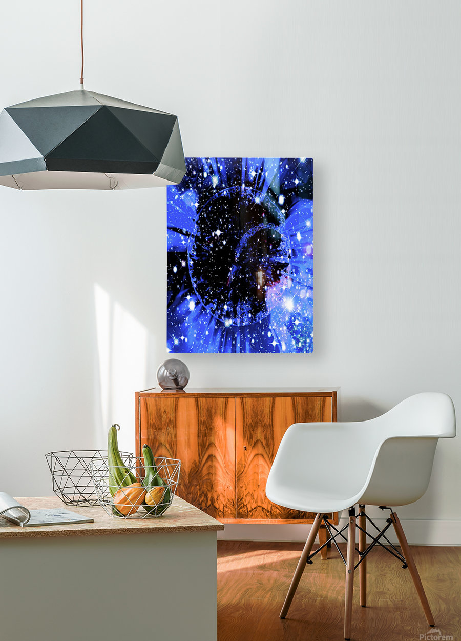 The Power of Colors Series 2  HD Metal print with Floating Frame on Back