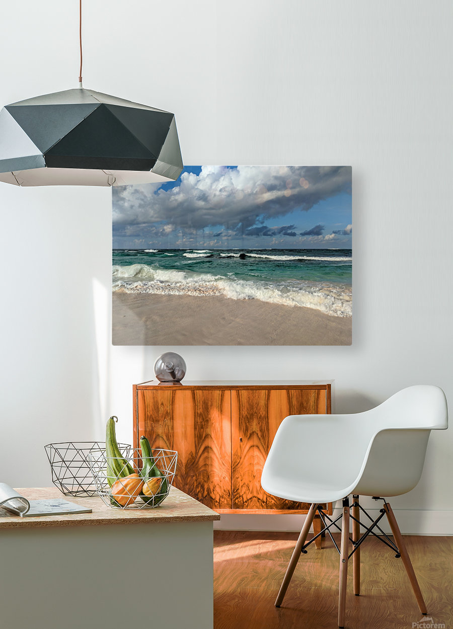 Eleuthera Endless Waves  HD Metal print with Floating Frame on Back