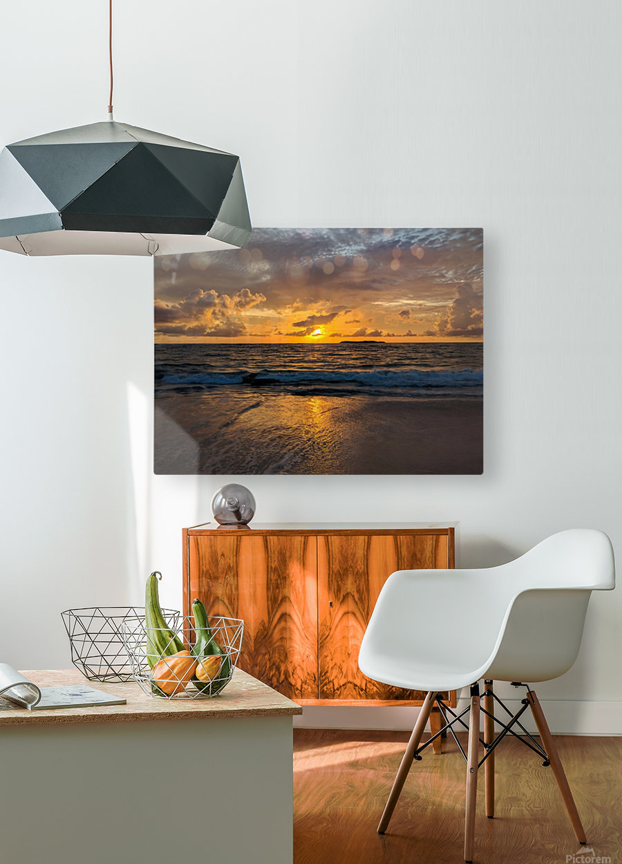 Eleuthera Sunrise  HD Metal print with Floating Frame on Back