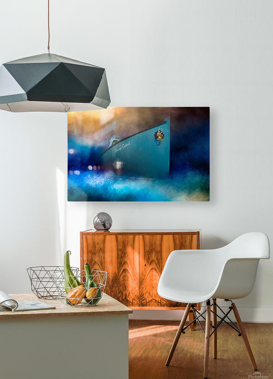 Donna Carol  HD Metal print with Floating Frame on Back