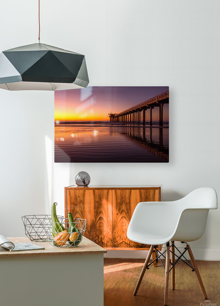 Final Dream  HD Metal print with Floating Frame on Back