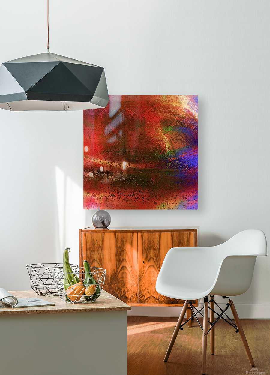Targetor  HD Metal print with Floating Frame on Back
