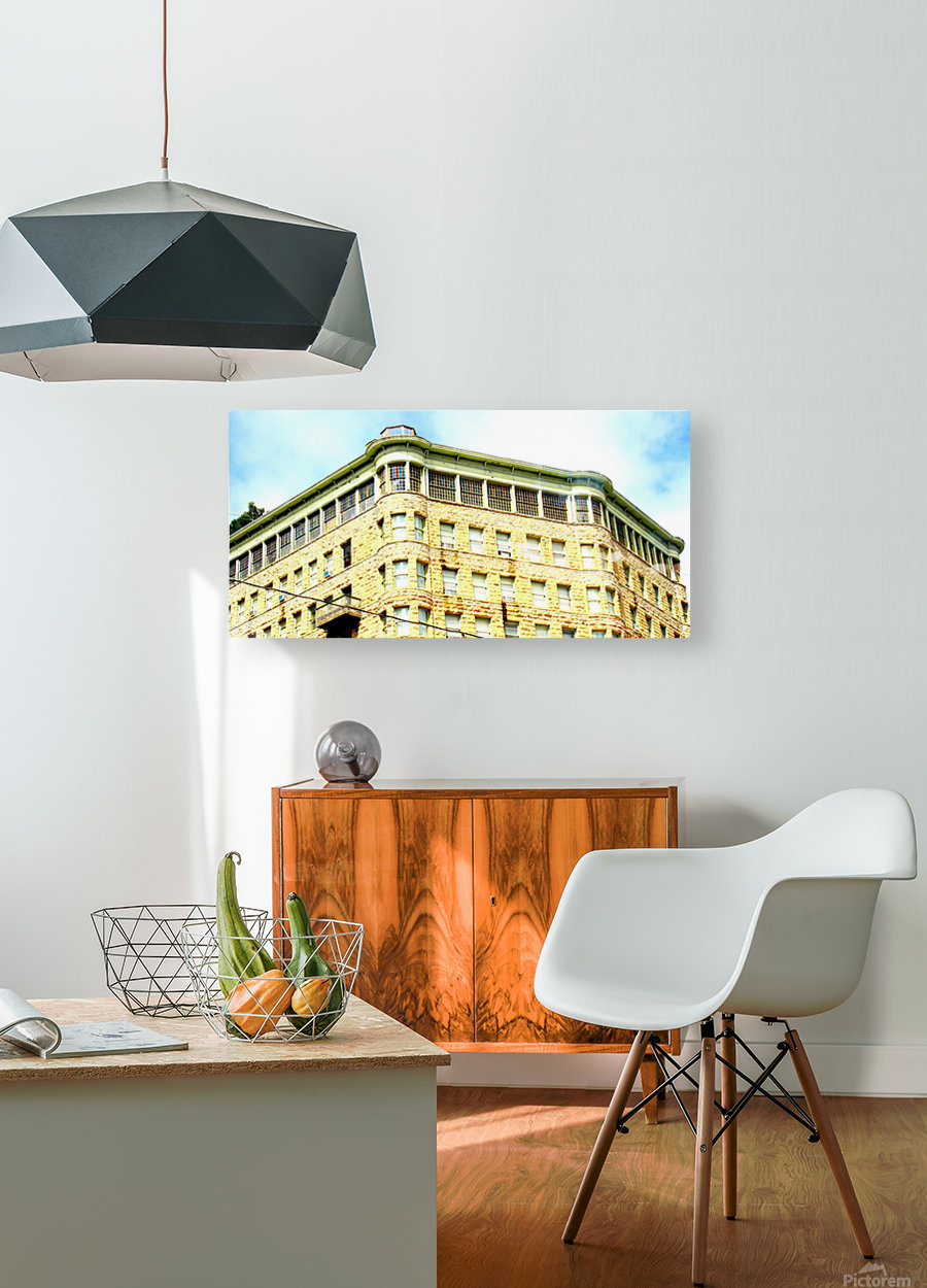 Basin Park  HD Metal print with Floating Frame on Back