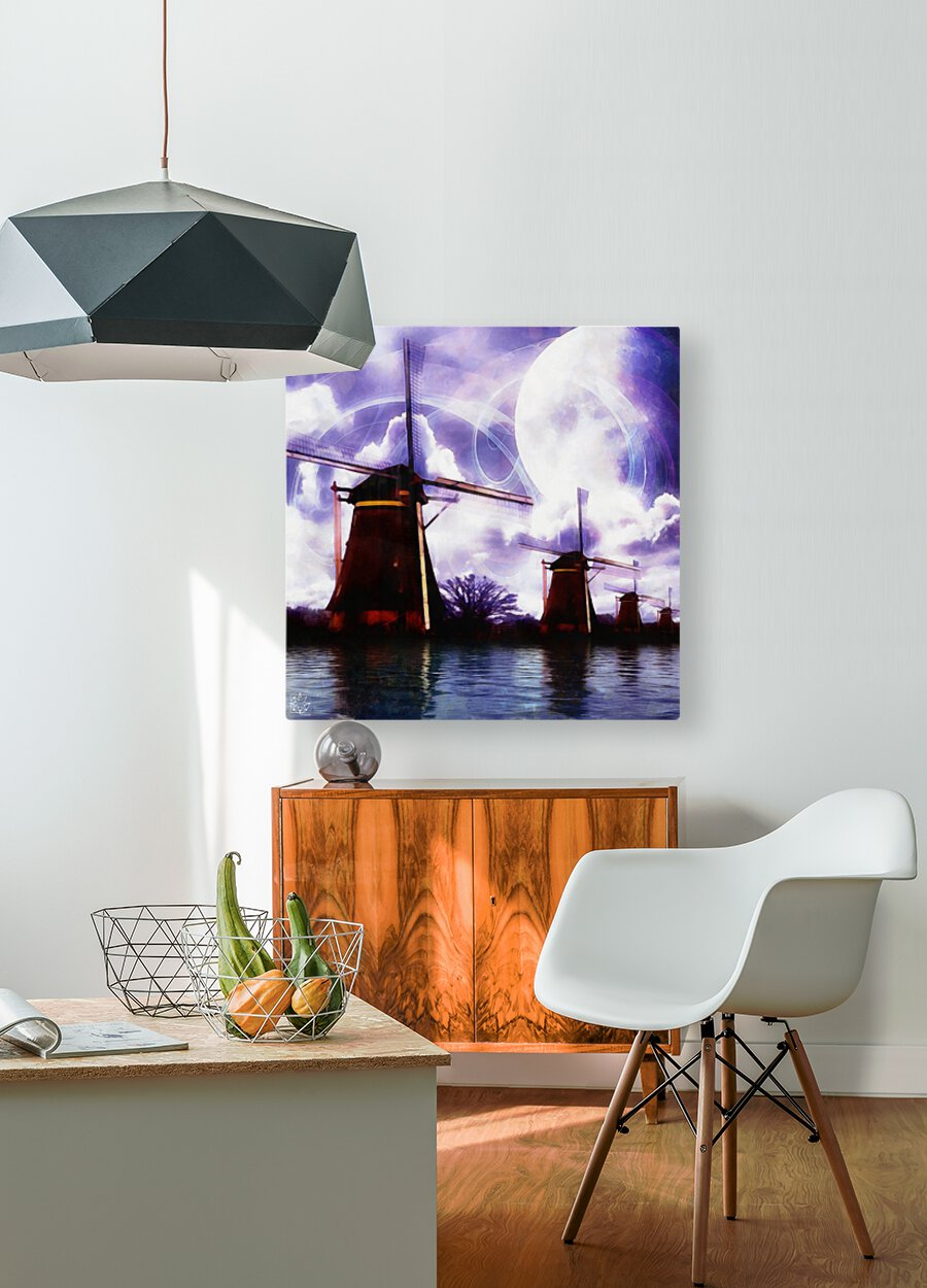 Windcatcher  HD Metal print with Floating Frame on Back