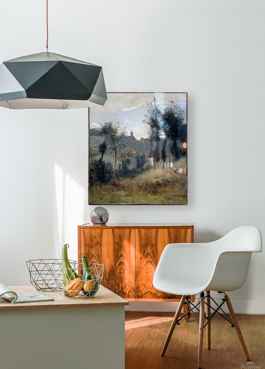 Canteleu  HD Metal print with Floating Frame on Back