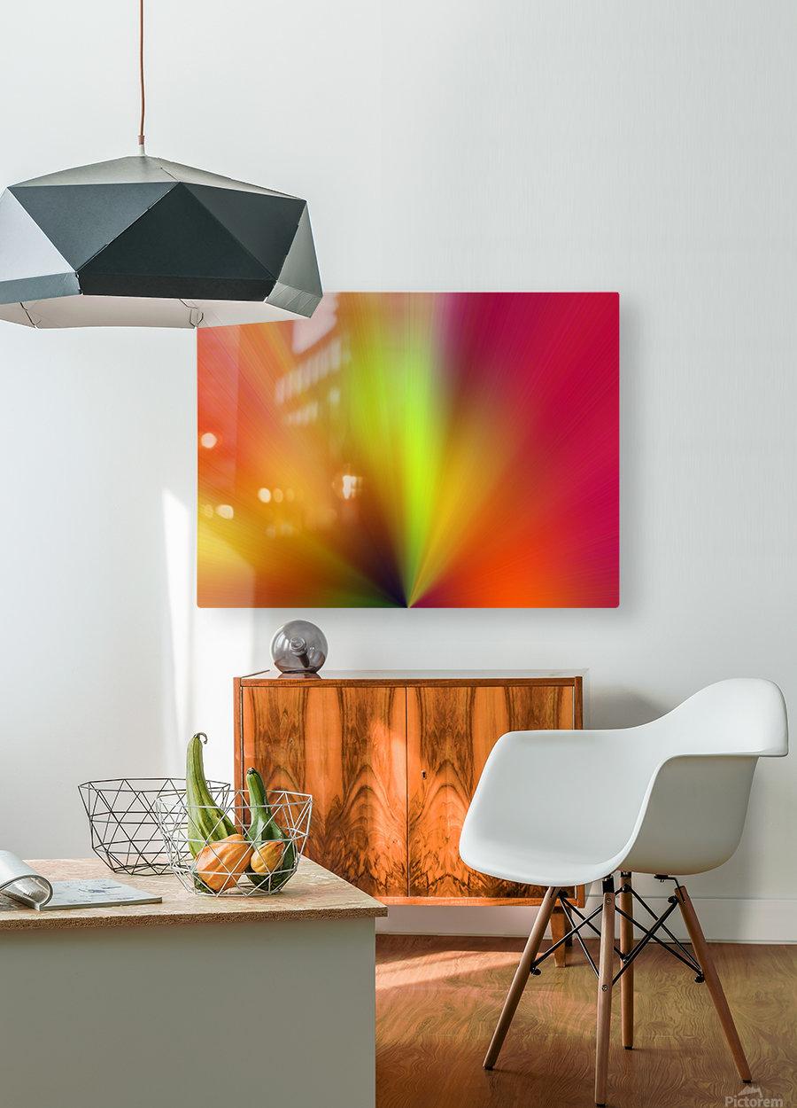 Untitled  Impression métal HD avec cadre flottant sur le dos