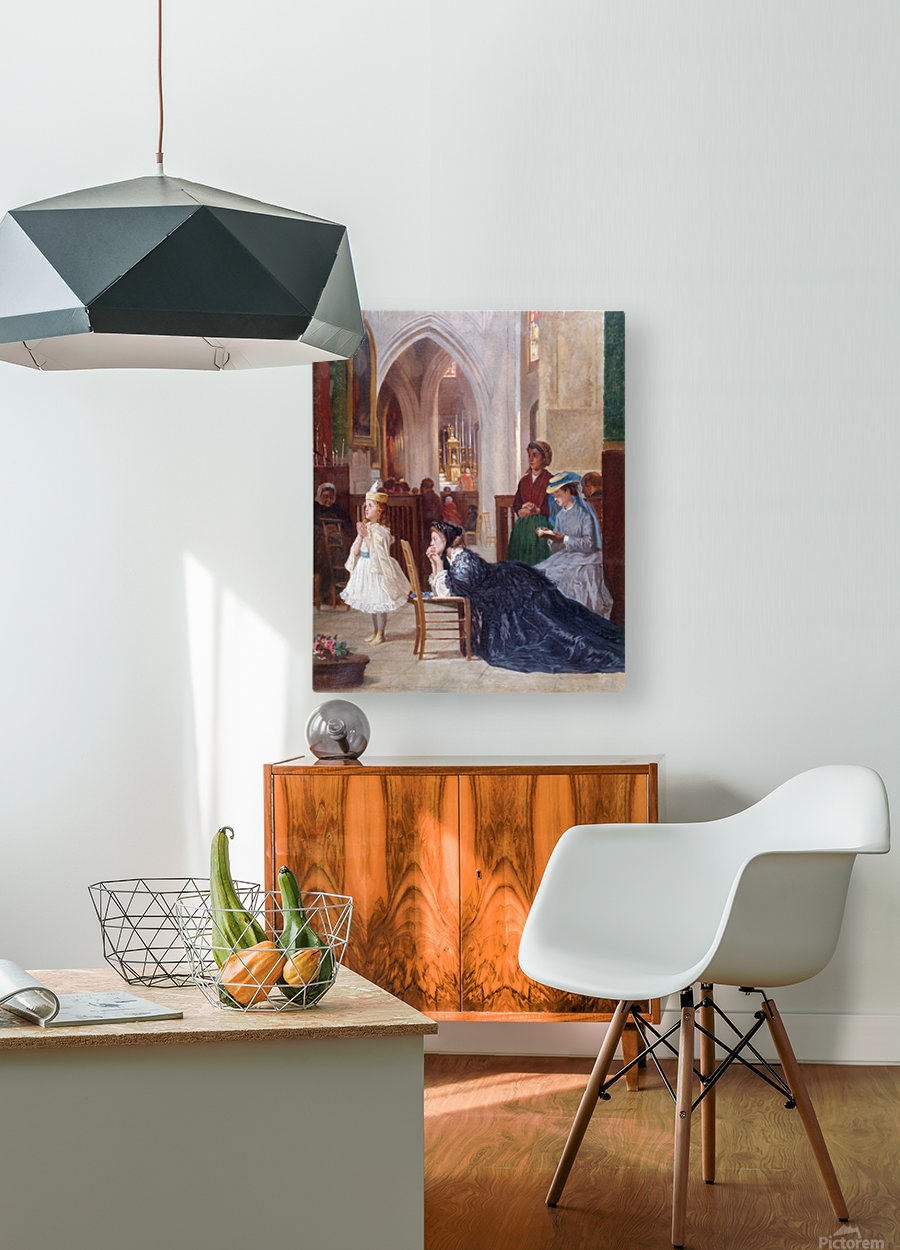 La priere  HD Metal print with Floating Frame on Back