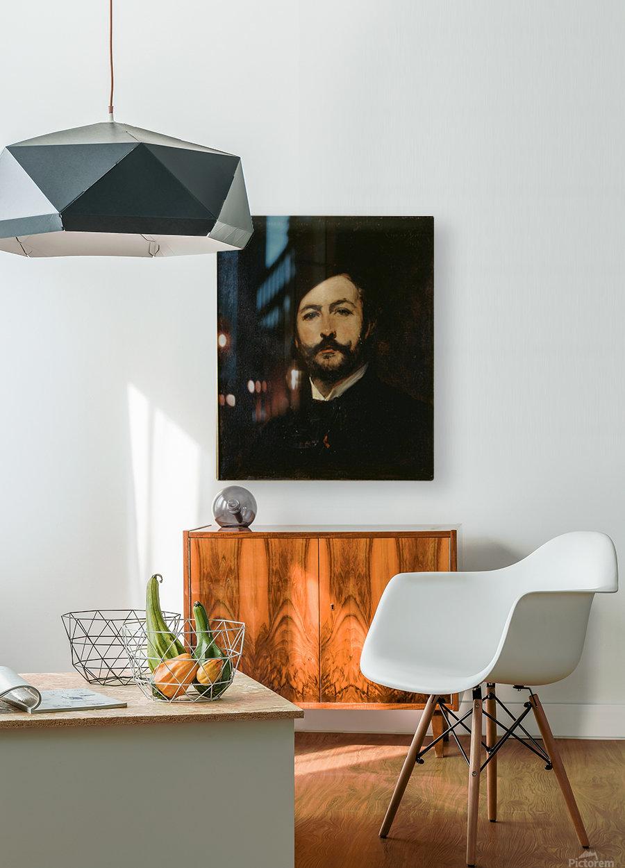 Portrait du baron Antoine d Ezpeleta  HD Metal print with Floating Frame on Back