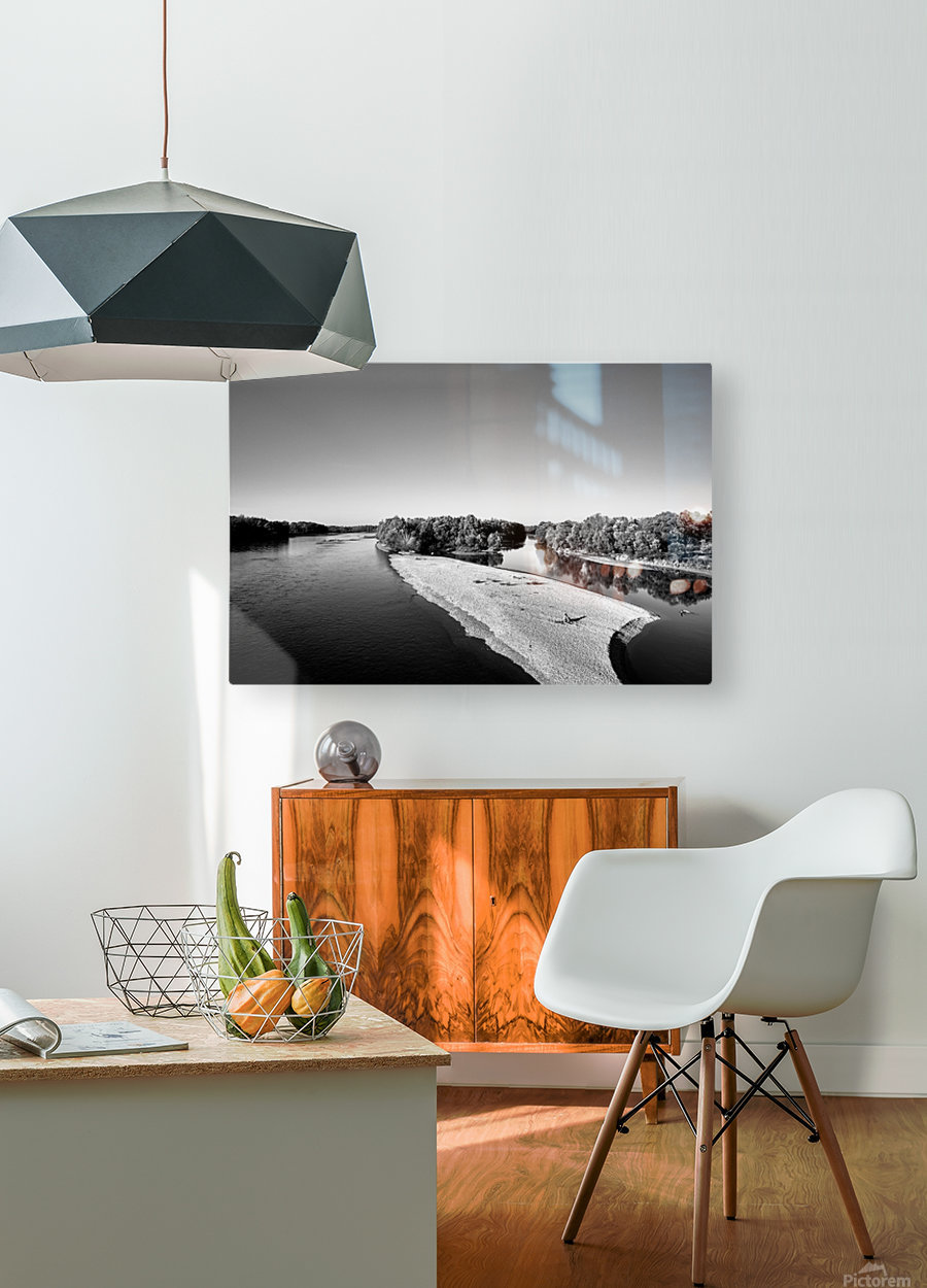 Dreamy Horizon  HD Metal print with Floating Frame on Back