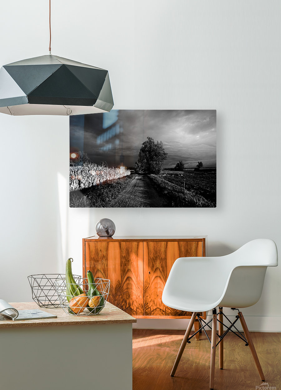 Drama  HD Metal print with Floating Frame on Back